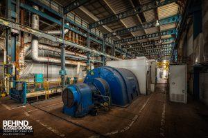 Spondon H Power Station - Turbine and generator