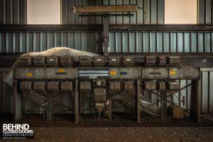 Spondon H Boiler House - Switchgear