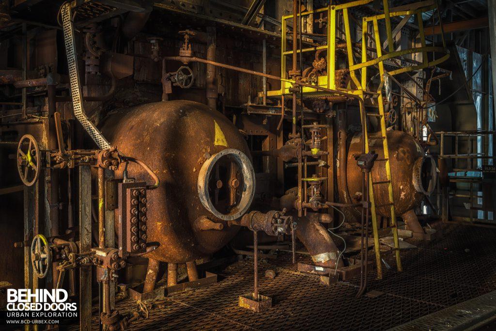 Spondon H Boiler House - Part of the boilers