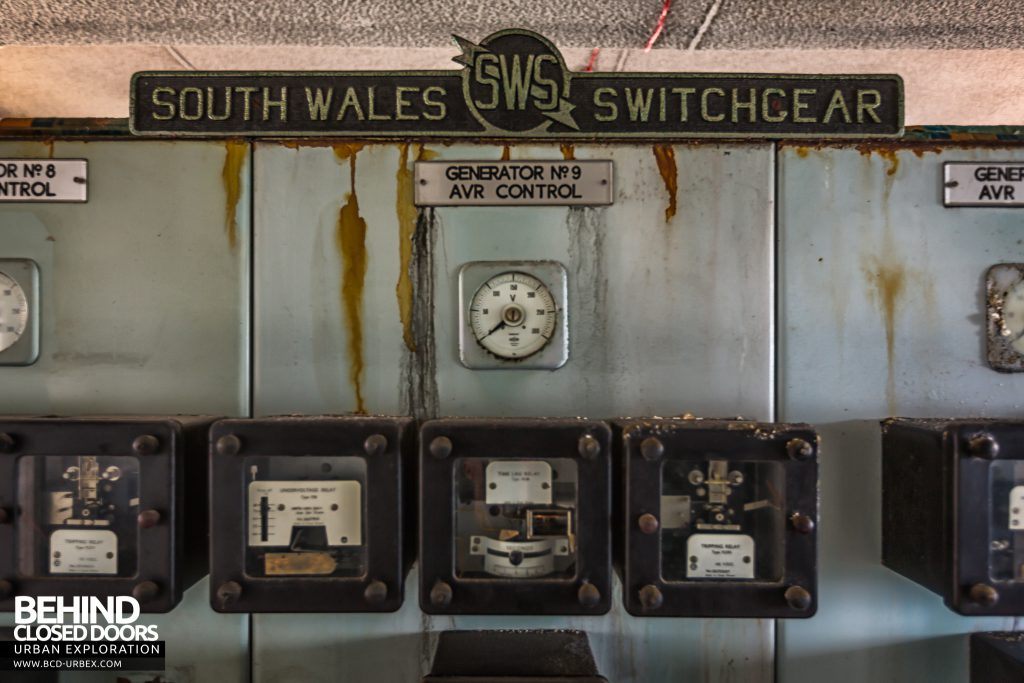 Spondon H Control Room - Most of the panels in the switch room were made by South Wales Switchgear