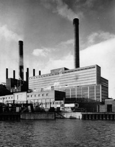 How Spondon H Power Station looked when it opened