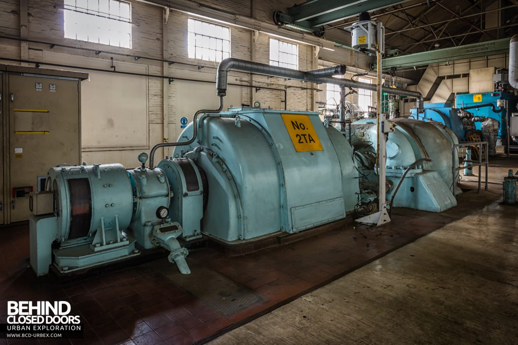 Kodak - Harrow - No. 2 English Electric turbine with 3.6MW alternator