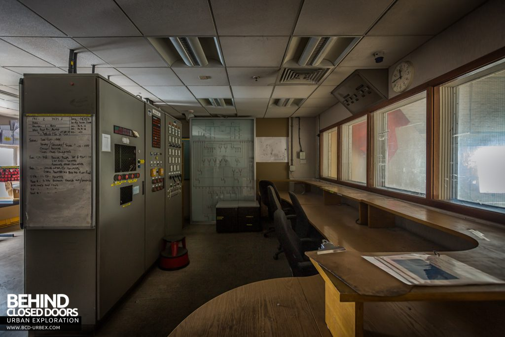 Kodak, Harrow - The power house control room was a bit disappointing!