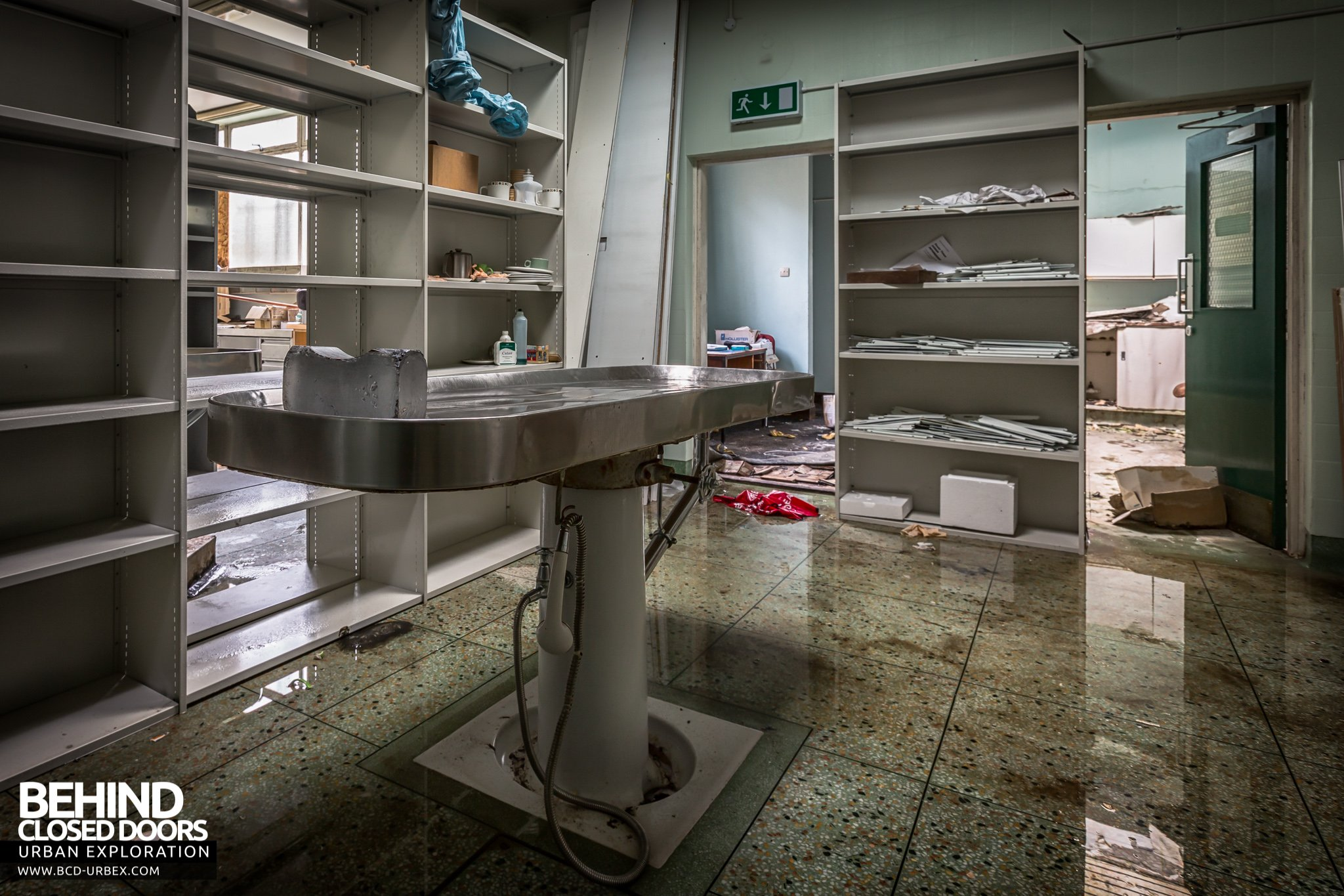 City Mortuary At Forster Green Hospital Belfast Northern
