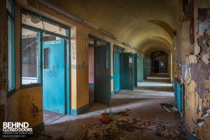 St. Brigids / Connacht Asylum - Ward dorridor