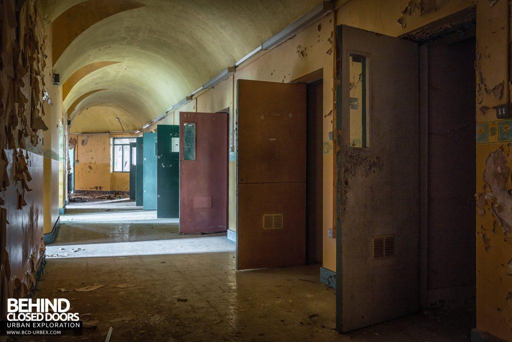 St. Brigids / Connacht Asylum - More doors on another corridor