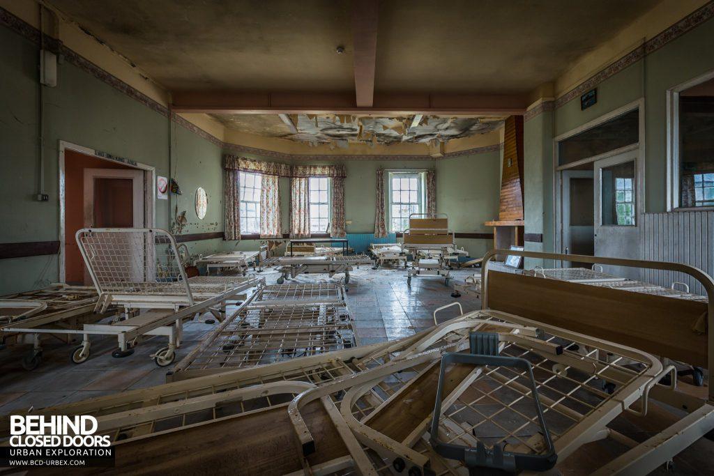 St. Brigids / Connacht Asylum - Room full of beds