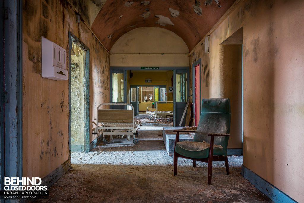 St. Brigids / Connacht Asylum - Lots of items left in a corridor