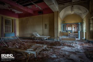 St. Brigids / Connacht Asylum - Beds in decay
