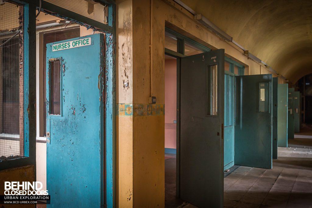 St. Brigids / Connacht Asylum - Nurses station and cell doors