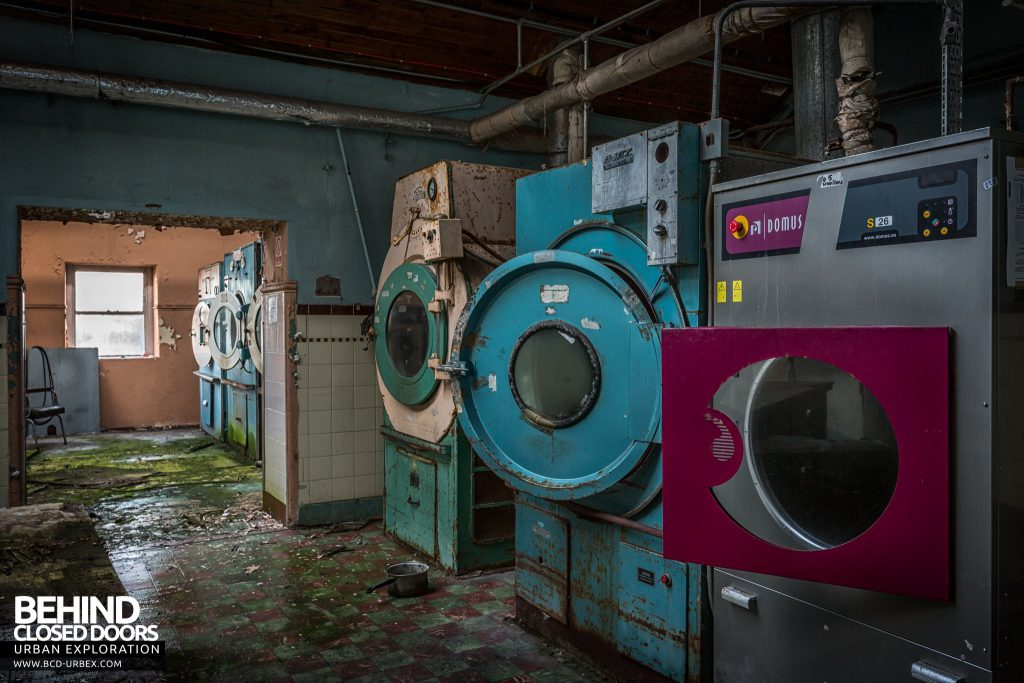 St. Brigids / Connacht Asylum - Washers and dryers in the laundry rooms