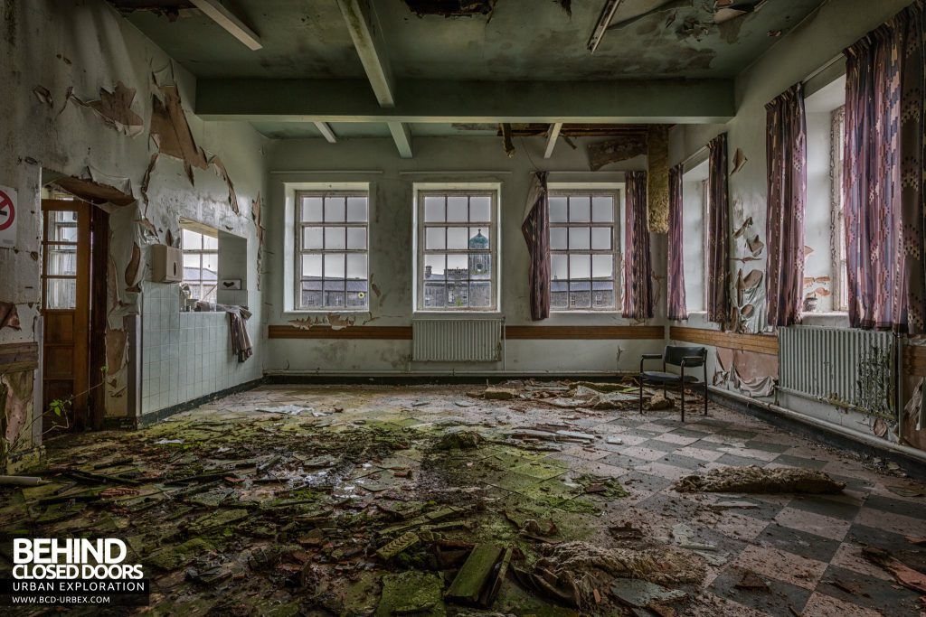 St. Brigids / Connacht Asylum - Decaying room