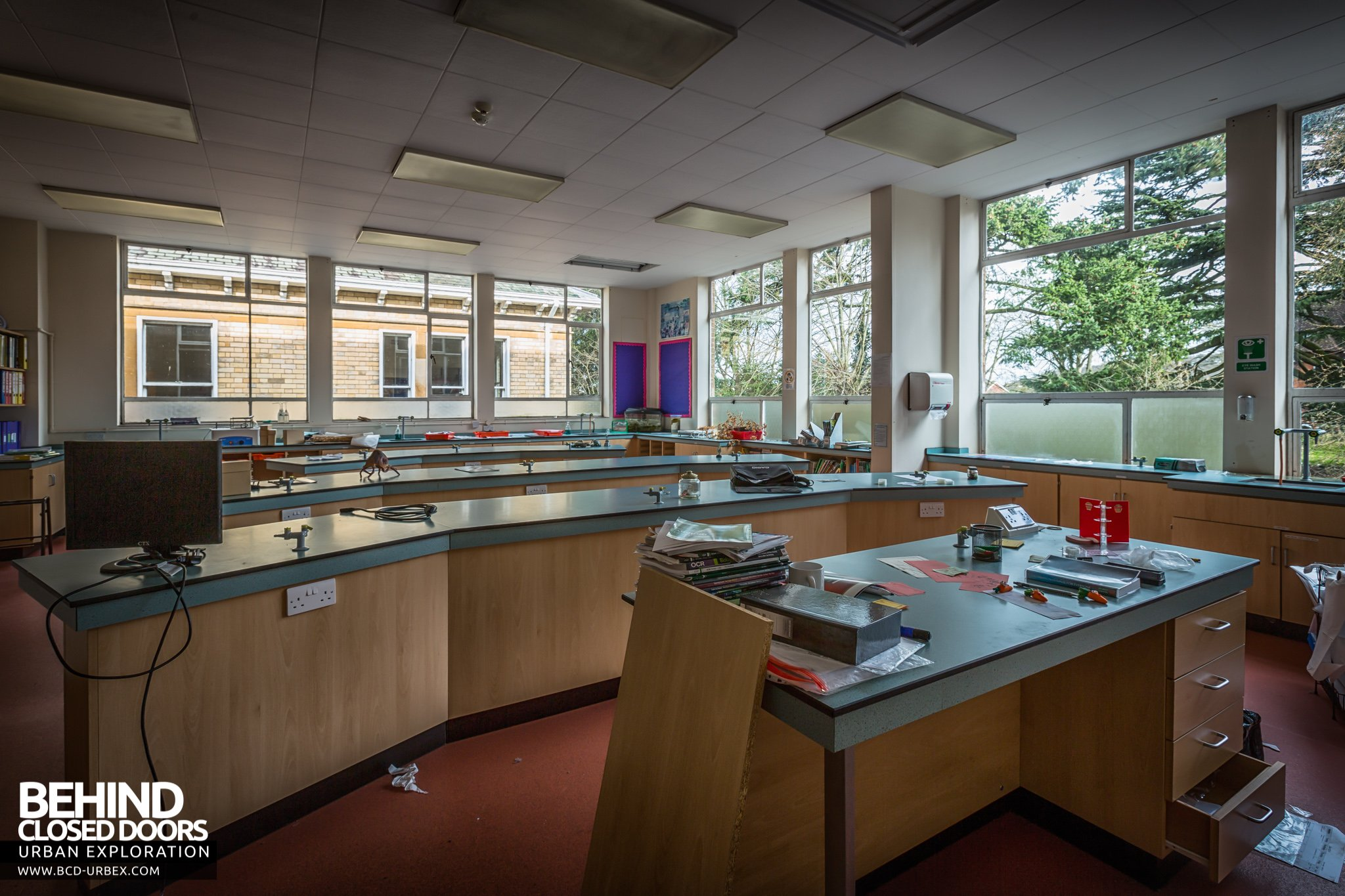 Modern Science Classroom ~ Battenhall mount former st mary s convent school