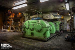Goodyear Mixing and Retread Plant, Wolverhampton - Machinery