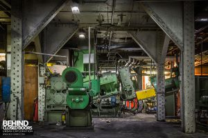 Goodyear Mixing and Retread Plant, Wolverhampton - Various bits of machinery