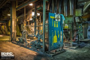 Goodyear Mixing and Retread Plant, Wolverhampton - Tool station