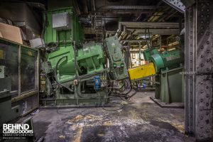 Goodyear Mixing and Retread Plant, Wolverhampton - More machinery