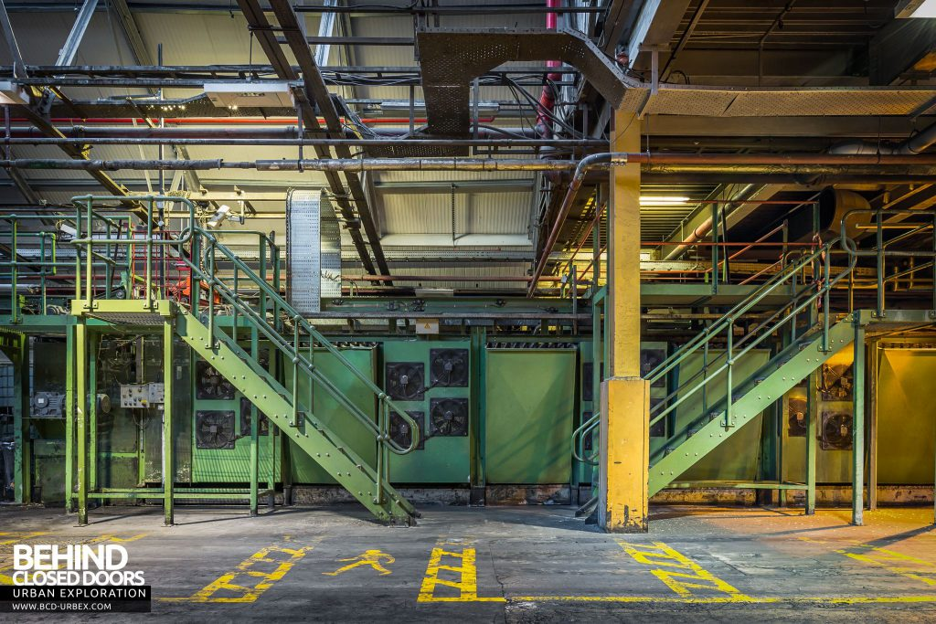 Goodyear Mixing and Retread Plant, Wolverhampton - Retread production line