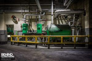 Goodyear Mixing and Retread Plant, Wolverhampton - Ancillary tanks