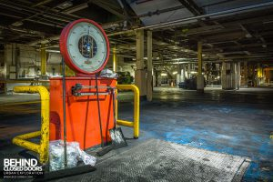 Goodyear Mixing and Retread Plant, Wolverhampton - Avery scales