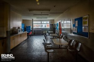 Goodyear Mixing and Retread Plant, Wolverhampton - Staff canteen