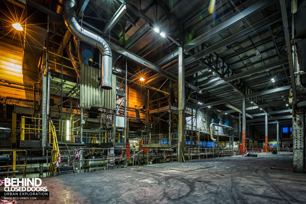 Goodyear Mixing and Retread Plant, Wolverhampton - Mixing plant main area