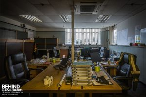 Goodyear Mixing and Retread Plant, Wolverhampton - This office was still in use