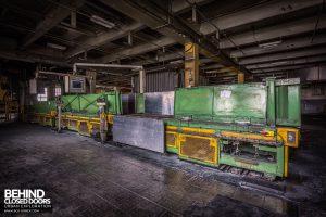 Goodyear Mixing and Retread Plant, Wolverhampton - Yet more conveyor lines