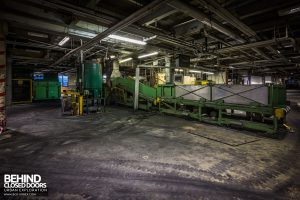 Goodyear Mixing and Retread Plant, Wolverhampton - More conveyors along the line