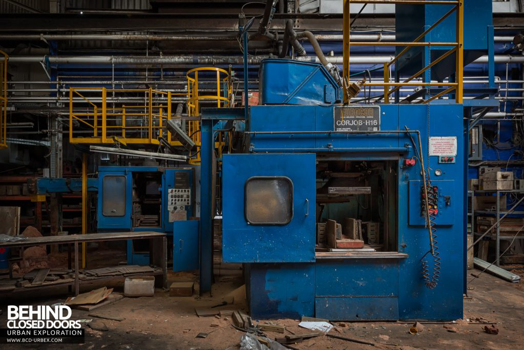 Chamberlin & Hill Castings, Leicester - Eurocor Corjob-H16