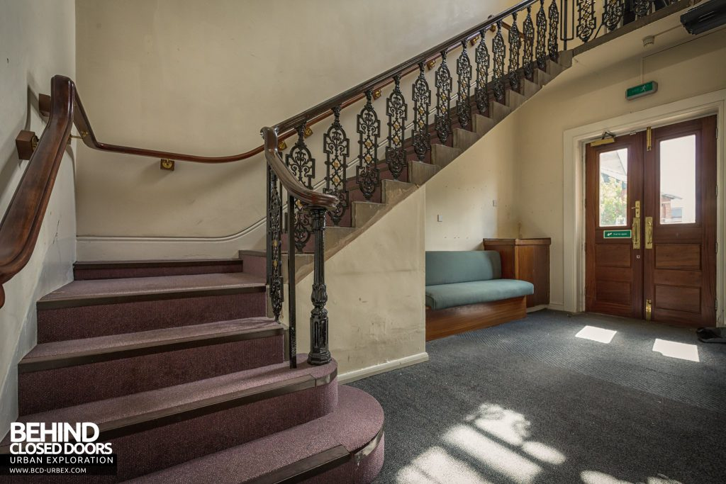 County Court, Burton upon Trent - Staircase in front entrance