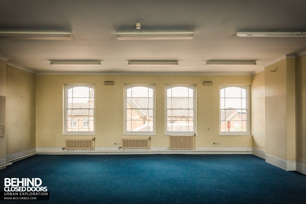 County Court, Burton upon Trent - One of the empty offices upstairs