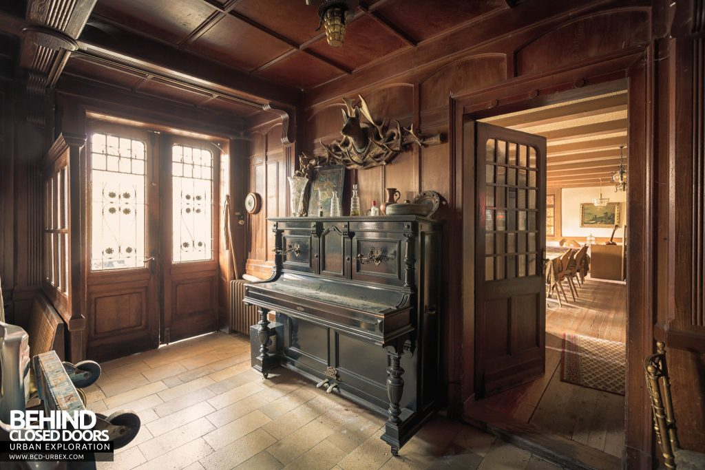 The Hunters Hotel, Germany - Piano in the main entrance