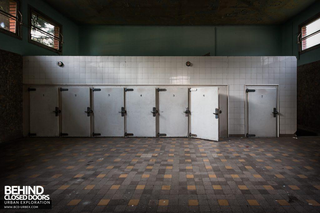 La Morgue Prelude, France - Body storage room