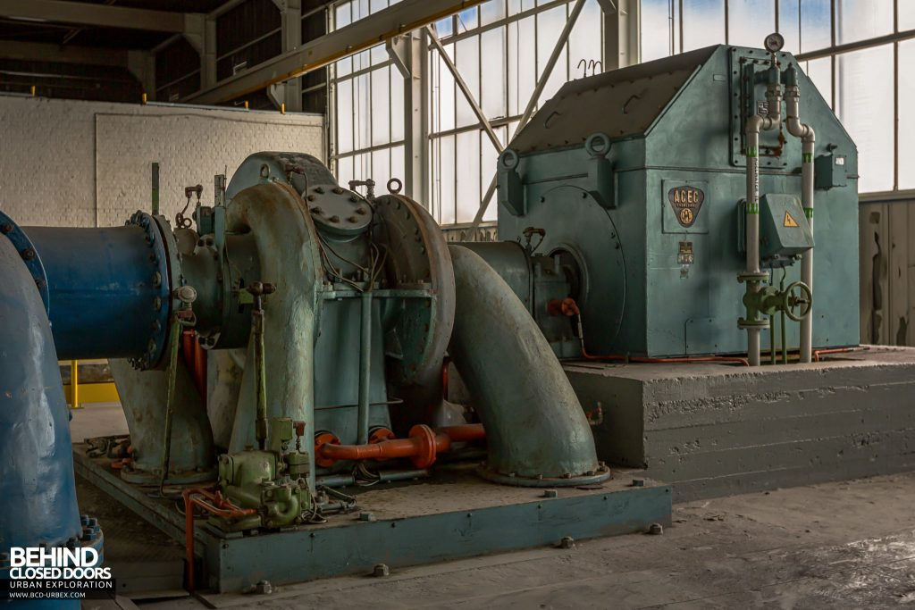 Ford Genk Powerhouse - Unit 2 compressor and motor
