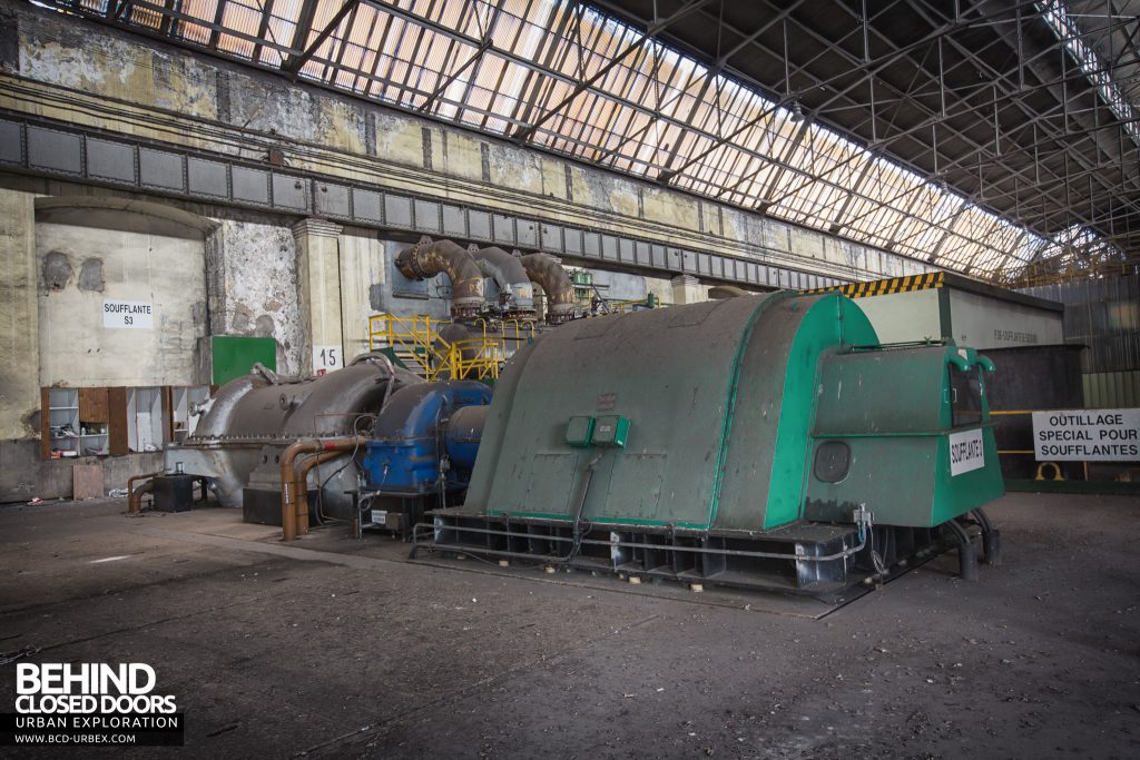Florange Steelworks, France - The green motor for fan 3