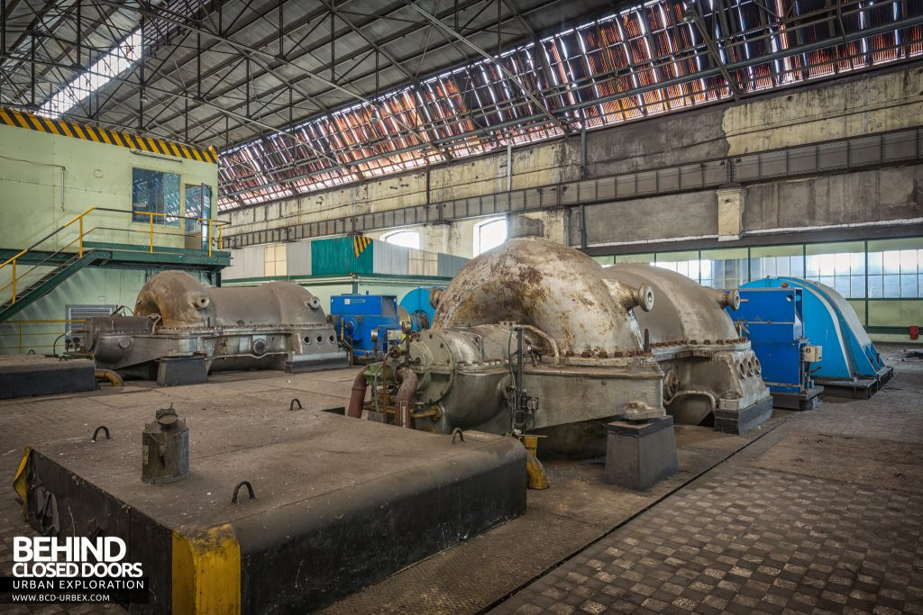 Florange Steelworks, France - There was one blower set for each blast furnace