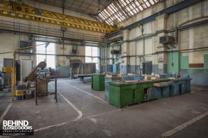 Florange Steelworks, France - Workshops