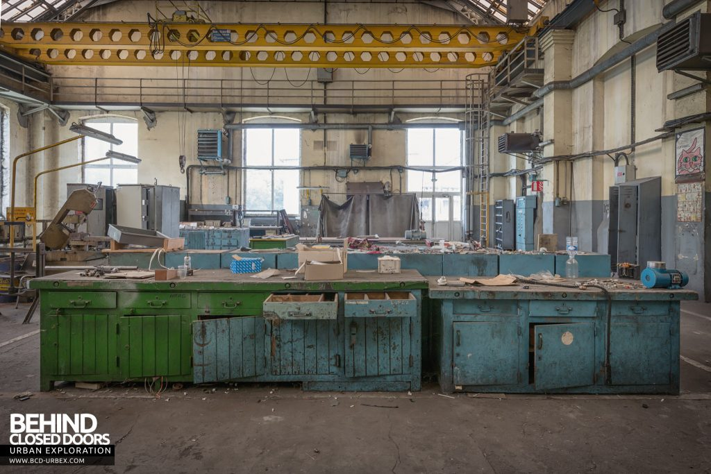 Florange Steelworks, France - Workshop area