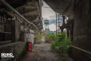 HFX Steelworks, France - Water tower