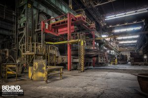 HFX Steelworks, France - View down the steelworks