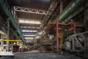 HFX Steelworks, France - View in the opposite direction