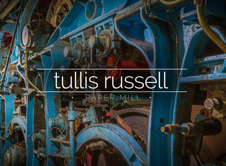 Tullis Russell Papermill Scotland