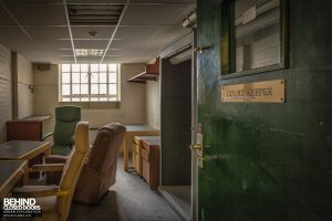 Greenwich Magistrates Court - Court Keepers room