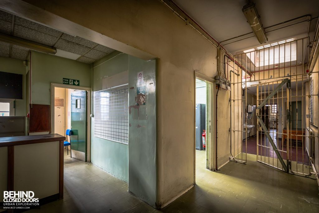 Greenwich Magistrates Court - Entrance to the cells