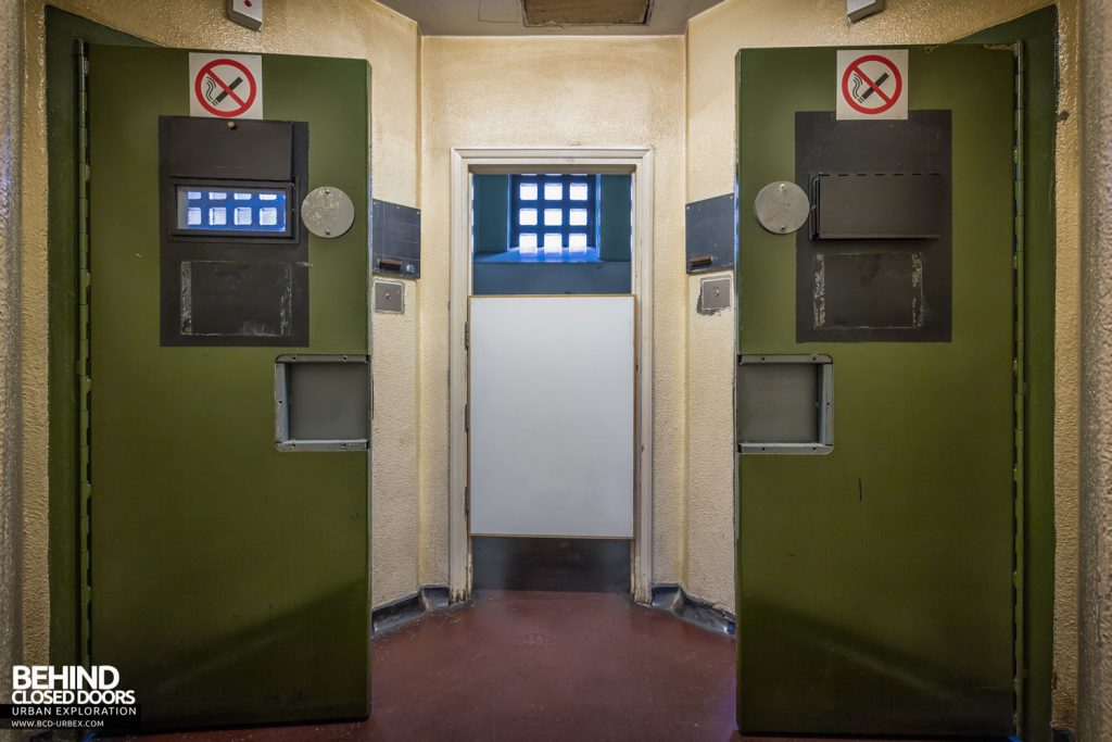 Greenwich Magistrates Court - Cell doors