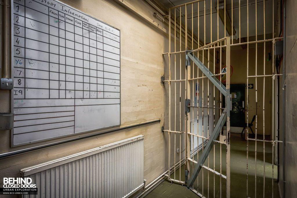 Greenwich Magistrates Court - Custody information board