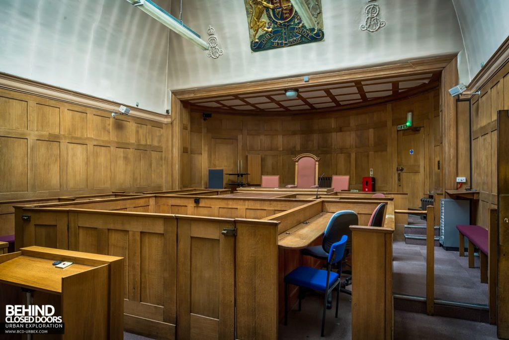 Greenwich Magistrates Court - Courtroom 1 was the main court