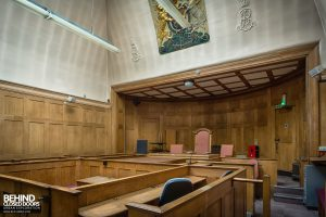 Greenwich Magistrates Court - The magistrates seats