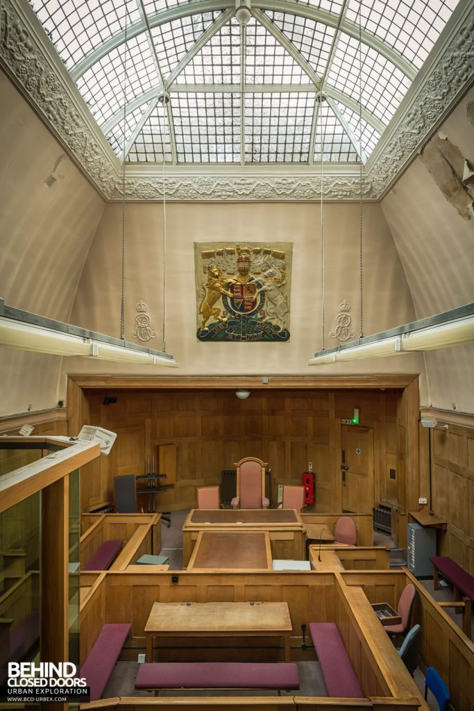 Greenwich Magistrates Court - Lightwell over the main courtroom